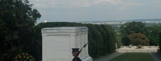 Tomb of the Unknowns is one of DC - Must Visit.