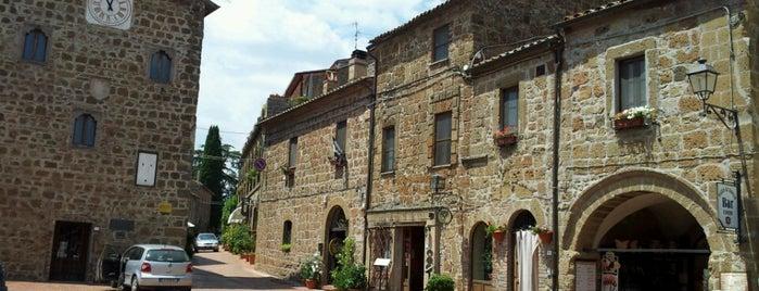 Sovana - Borgo is one of Tempat yang Disukai Pomona.