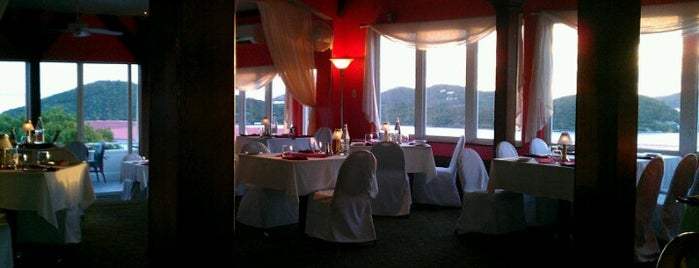 Room With a View Restaurant and Wine Bar is one of U.S. Virgin Islands.
