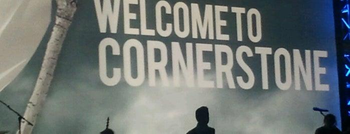 Cornerstone Christian Fellowship is one of Tempat yang Disukai Barry.