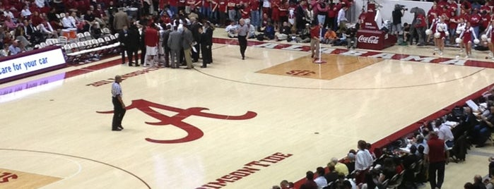 Coleman Coliseum is one of Experience NCAA Teams.
