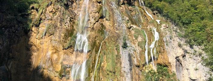 Big Falls is one of Croatia top spots.