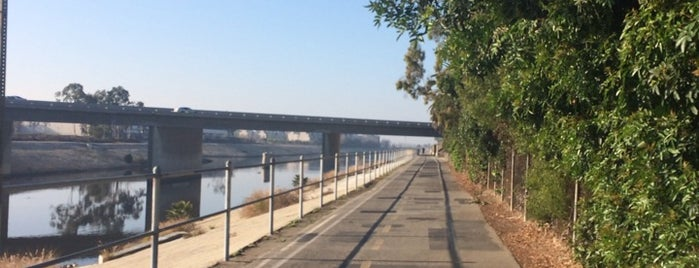 Ballona Creek Bike Path is one of Favorite L.A. Spots.
