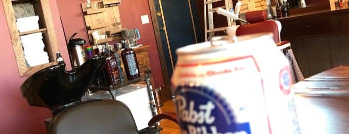 The Nobleman Barbershop is one of Locais curtidos por David.