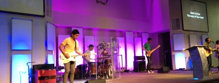 Calvary Chapel Golden Springs is one of favs.