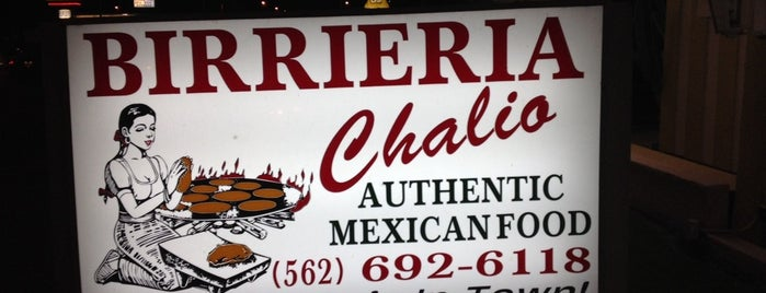 Birrieria Chalio is one of Southern California Foodie Adventure.