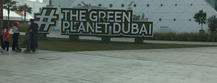 The Green Planet is one of Дубай.