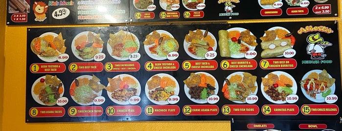 Alberto's Mexican Food is one of list of -berto's restaurants.