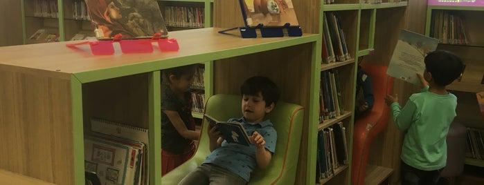 Gaziantep Büyükşehir Belediyesi Çocuk Kütüphanesi is one of Tempat yang Disukai HARUN.