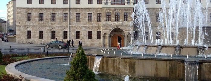 Cumhuriyet Meydanı is one of Tempat yang Disukai Erkan.