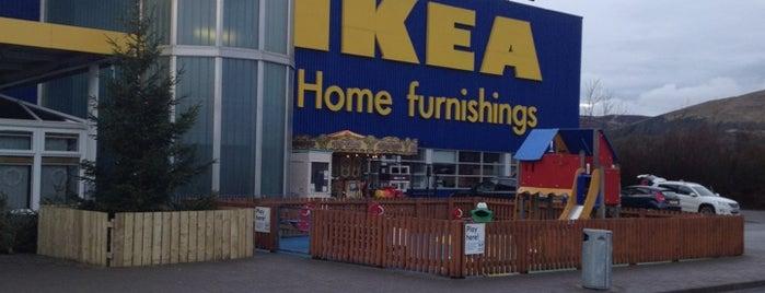 IKEA is one of Lieux qui ont plu à Kriss.