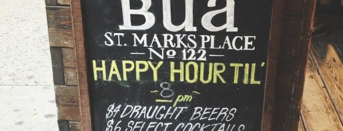 Bua is one of NYC Bars.