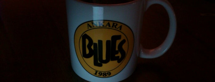 Blues Cafe Bar is one of Ankara.