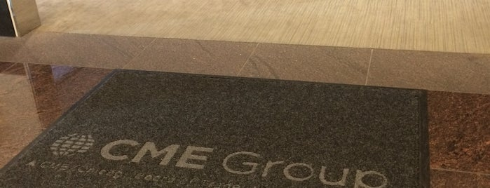 CME Group is one of This job has taken me to....