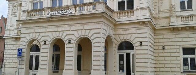 Restaurace Střelnice is one of Kde si pochutnáte na kávě doubleshot?.
