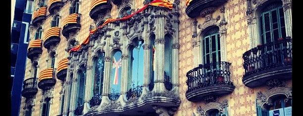 Plaça de Lesseps is one of Barcelona Essentials.