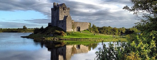 Dunguaire Castle is one of Galway.