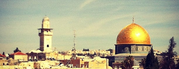 Jerusalem is one of Israel.