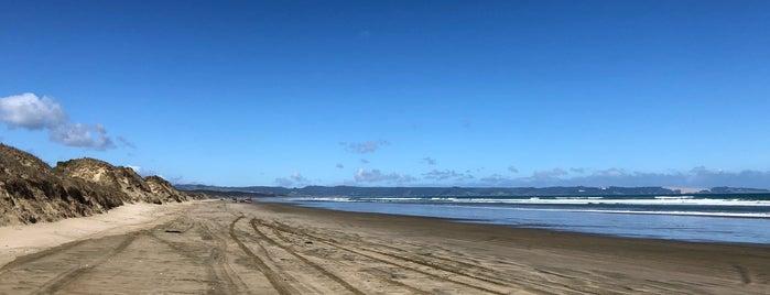 90 Mile Beach is one of Nuova Zelanda.