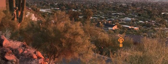 Camelback Mountain is one of Phoenix, AZ.