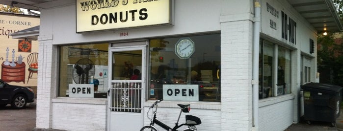 World's Fair Donuts is one of St Louis.