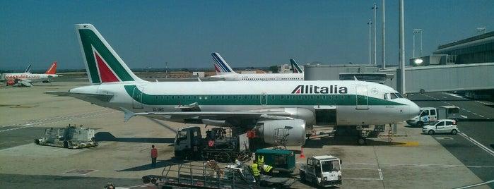 """Aeroporto di Roma-Fiumicino """"Leonardo da Vinci"""" (FCO) is one of Rome / Roma."""