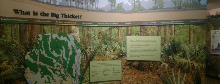 Big Thicket National Preserve Visitor's Center is one of Lugares favoritos de Krzysztof.