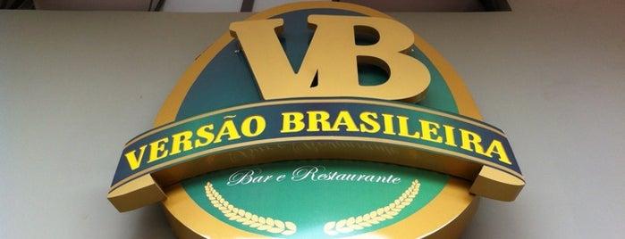 Versão Brasileira Bar & Restaurante is one of Lugares favoritos de Adriane.