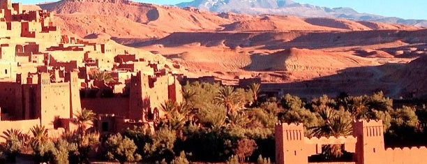 Aït-Ben-Haddou is one of Game of Thrones filming locations.