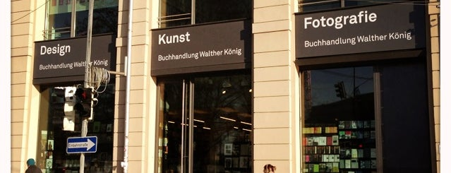 Buchhandlung Walther König is one of Bookstores & Libraries.