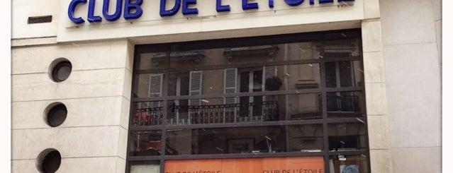 Club de l'Étoile is one of Locais curtidos por Kevin.