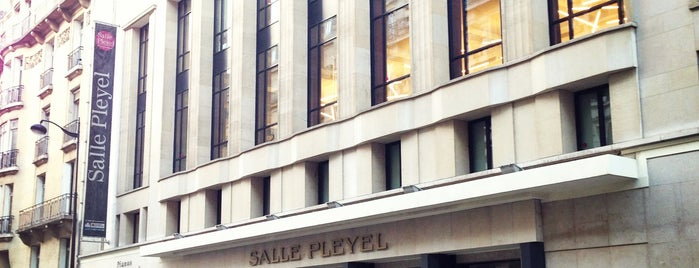 Salle Pleyel is one of Clubs, Vinyl & Live Music.