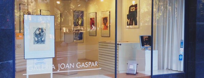 Galeria Joan Gaspar is one of Barcelona : Museums & Art Galleries.