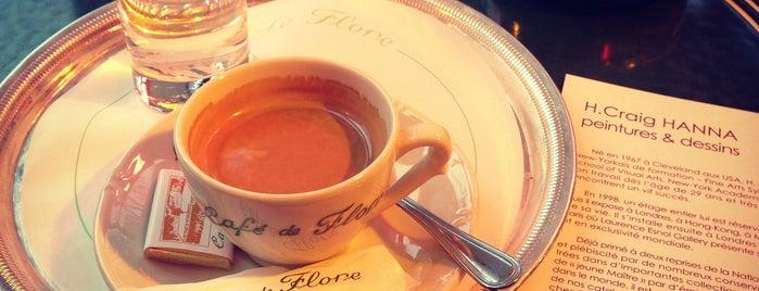 Café de Flore is one of Bars & Restaurants, I.