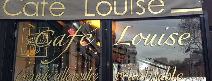 Café Louise is one of Paris.