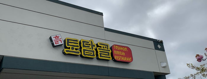 Todamgol Korean Restaurant is one of Locais salvos de Steven.