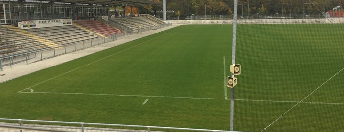 Stadion am Brentanobad is one of Stadiums I've been to.