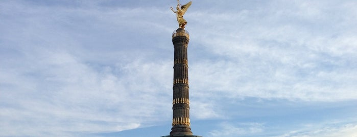 Colonne de la victoire is one of Berlin.