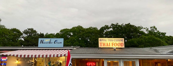 Nauset Ice Cream is one of cape cod.
