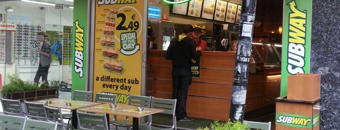 Subway is one of Lieux sauvegardés par Hamed.