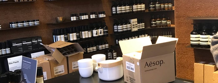 Aēsop is one of NYC2018.