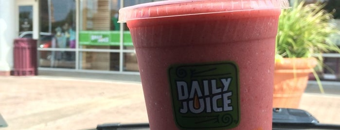 Daily Juice Cafe is one of More Houston.