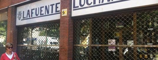 Licores Lafuente is one of Tiendas con Vinos de Madrid.