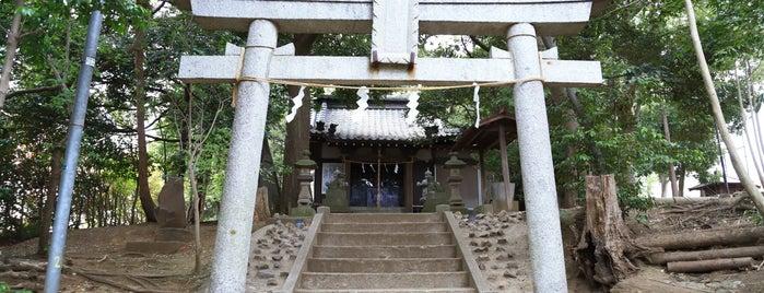 天津神社 is one of 自分が作成したVENUE.