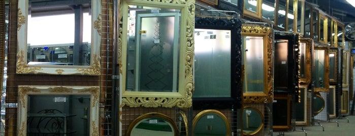 Московская зеркальная фабрика is one of Roman : понравившиеся места.