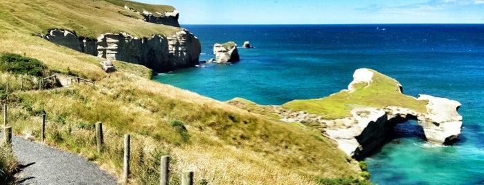 Tunnel Beach is one of Nuova Zelanda.