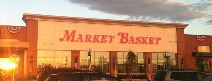 Market Basket is one of สถานที่ที่บันทึกไว้ของ Ellen.