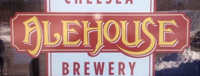 Chelsea Alehouse Brewery is one of Michigan Breweries.