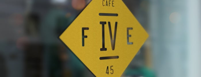 Forty Five Cafe is one of Odessa.