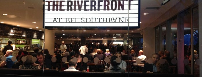 The Riverfront Bar and Kitchen is one of London.